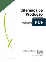 Calculando Diferenca_Producao