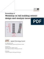 Tall Building Seismic Design and Analysis Issues - ATC-72