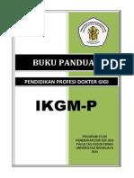 Buku Panduan PPDG IKGMP 2014