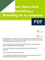 Como usar Apps para hacer Marketing y Branding de tu empresa