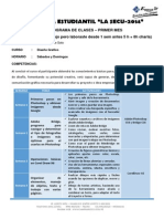 Cronograma de Clases Diseño G. 1er Mes()