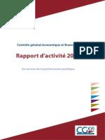 Rapport Activite 2012 CGEFi