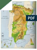 Mapa Fisiko España