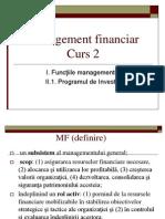 Management financiar Curs 2