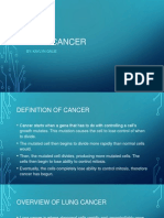 biology lung cancer powerpoint