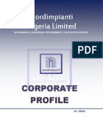 Peter Aniediabasi John; Director - Corporate Profile Nordimpianti Nigeria Limited