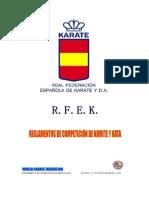 Rfek-reglamentos Comp Kata & Kumite 9.0-Ene2015