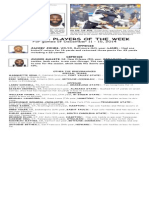 BCSP NFL ProFile for December 16, 2014