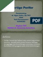 Vertigo Perifer