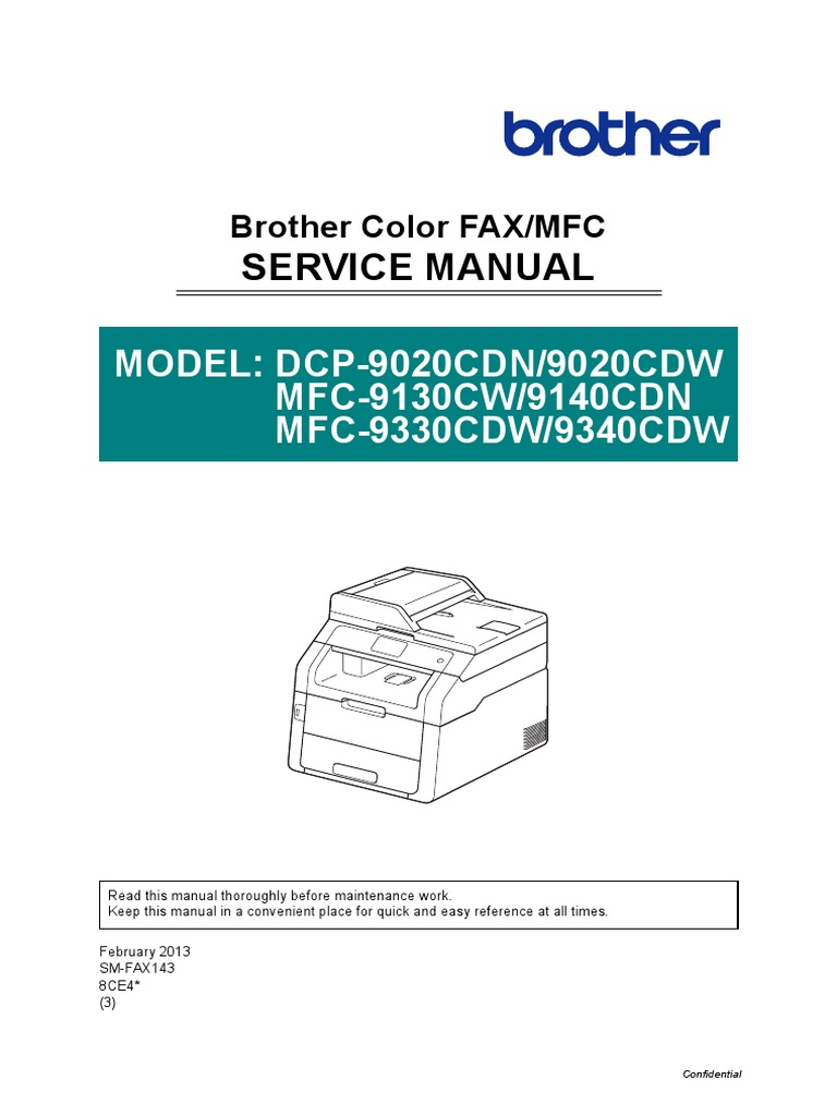 brother mfc-9340 service manual | Electromagnetic Interference ...