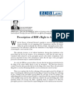 01.Prescription of BIR's Right to Assess.06!21!07.FDD