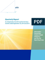 CHI Reporting Group Quarterly Report September 2014