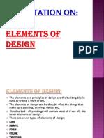 Elements of Design Ppt