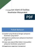 Pelayanan Islami Di Fasilitas Kesehatan Masyarakat