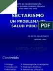 SECTARISMO UN PROBLEMA DE SALUD PUBLICA