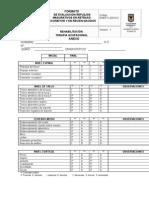 RHB-FO-420-013 FORMATO  DE EVALUACION REFLEJOSMADURATIVOS EN RETRASOPSICOMOTOR Y EN RECIEN NACIDOS