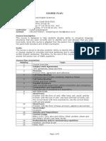 Course Plan Advanced Grammar 2014