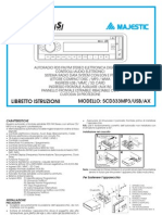 AUDIOLA RADIO SCD333MP3
