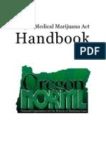 Oregon Medical Marijuana Act Handbook