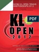 KL Open 2012