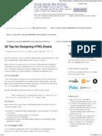 10 Tips for Designing HTML Emails.pdf