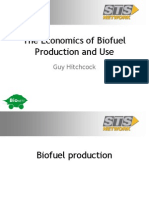 Economics of Biofuel Production