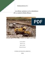 Informe Impacto Ambiental Relleno Sanitario