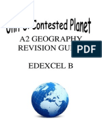 A 2 Unit 3 Geography Revision Guide Edexcel