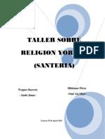 Religión Yorùbá_religión Del Mundo (1)