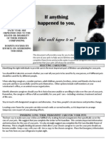 Petcare Power of Attorney