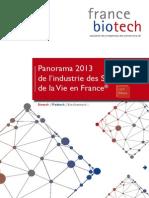Panorama 2013 des Sciences de la Vie en France®