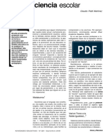 Perspectivas de la Ciencia Escolar / Claudio Piatti Martínez