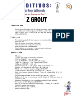 Z GROUT