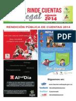 Rendición Pública de Cuentas 2014