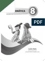 Guia Docente Matematica 8vo