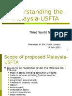 Wacana UTS FTA - Understanding by Sanya Smith TWN