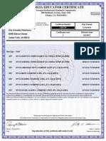 ga certificate