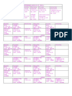 Midterms& Sem Schedule
