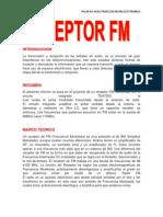 Informe de Receptor Fm  (UMSS)