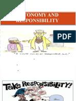 autonomy & Responsibility