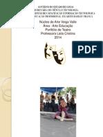 Portifolio de Teatro 2014