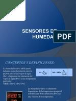 Sensores de Humedad
