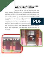 Laporan Gotong-royong Menyiapkan Bilik Operasi Pibg