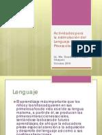 Actividades Para Estimular El Lenguaje Oral