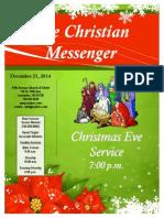 December 21 Newsletter