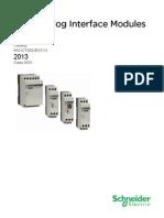Zelio Analog Catalog
