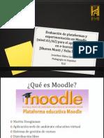 Evaluación de Plataformas y Experimentación en Moodle