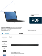 Inspiron 15 3542 Laptop Reference Guide en Us