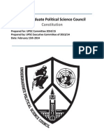 UPSC York University Constitution