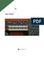 Organ Manual 300